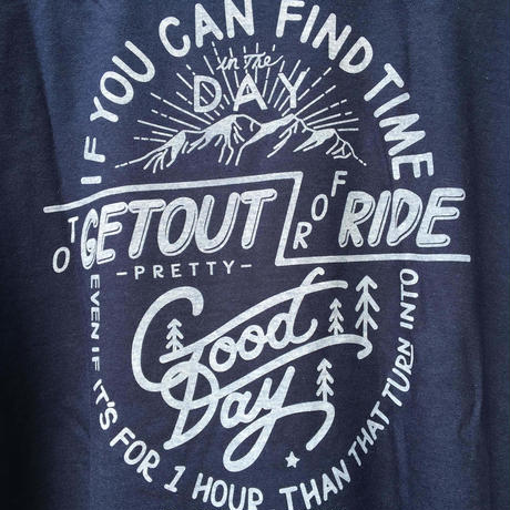 GOODDAY/Pocket Tee  (Navy Blue)