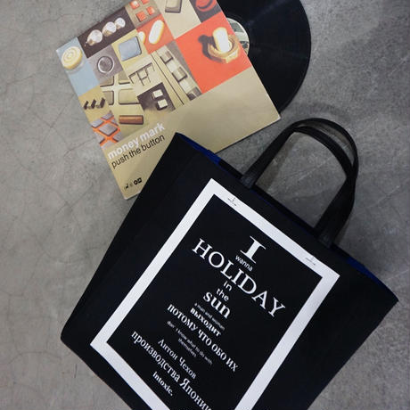 予約終了【先行予約】HOLIDAY LP record tote black