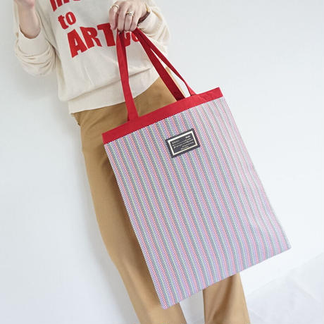 【新作】chiristine candy stripe white