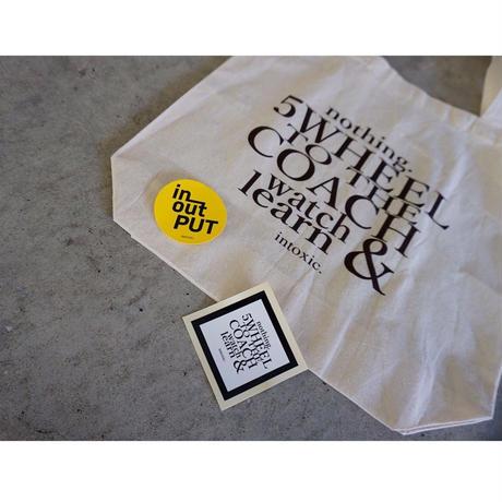 intoxic. original eco bag 5th WHEEL with 2sticker