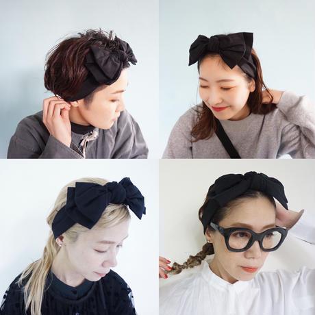 【オンラインストア限定】head dress ribbon