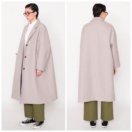 thomas magpie chester long coat grey  (2193201)