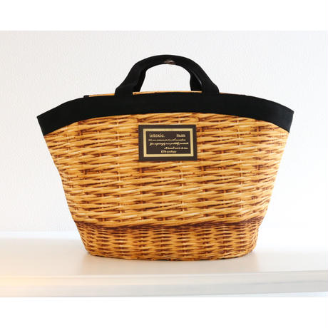 marche mini fake basket black