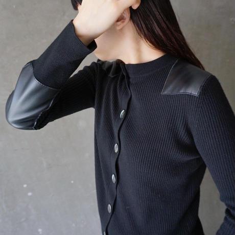 予約終了【先行予約】thomas magpie military knit black(2194721)