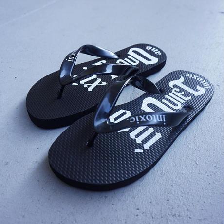 beach sandals  black
