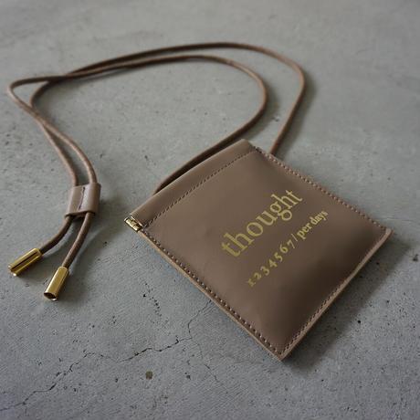 【オンラインストア限定】leather multi case