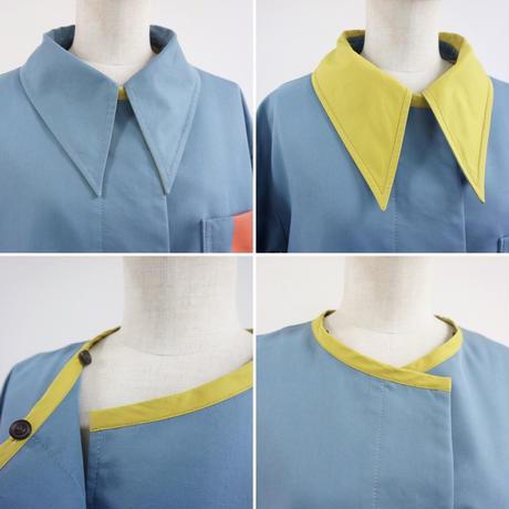 thomas magpie  layered vest coat(2211203)【受付終了: 3月お届け】