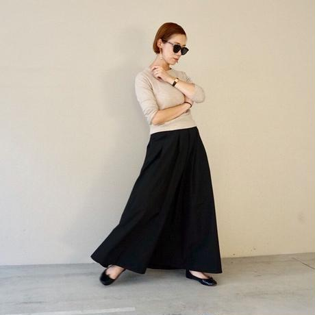 ▼予約終了 thomas magpie long skirt black
