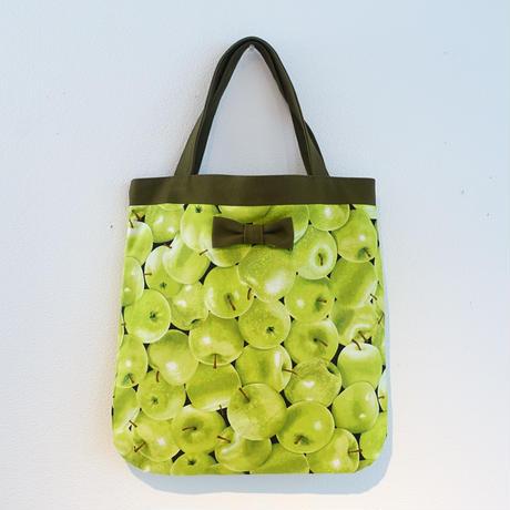 【オンラインストア限定】medium tote green apples