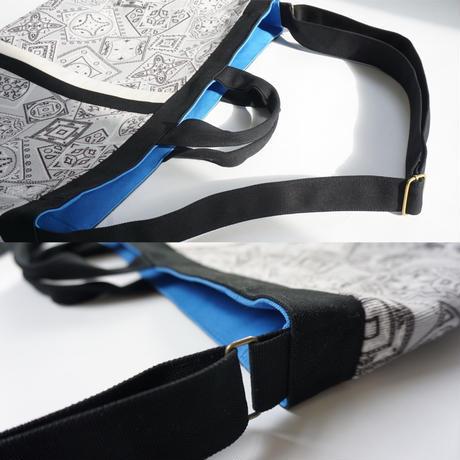 【オンラインストア限定】adjust strap tote  paisley