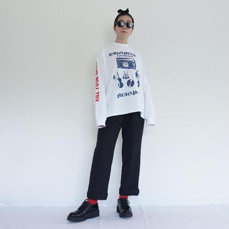 thomas magpie long sleeve T-shirt (2211803)【受付終了:3月お届け】