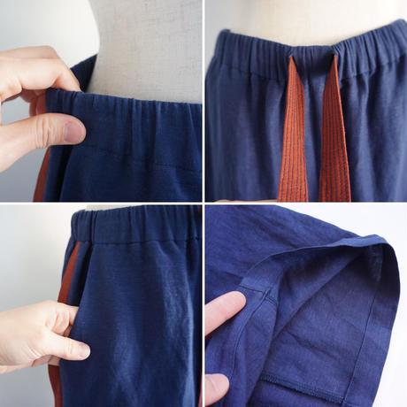 thomas magpie linen easy  pants   (2212306)【受付終了:5月お届け】