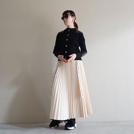 予約終了【先行予約】thomas magpie pleated long skirt ivory(2194611)