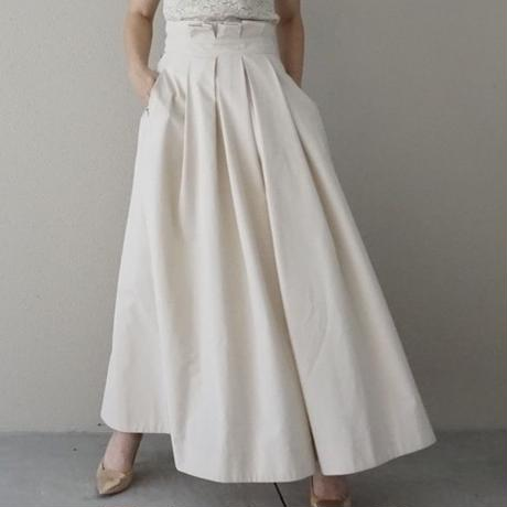 ▼予約終了 thomas magpie long  skirt  cream