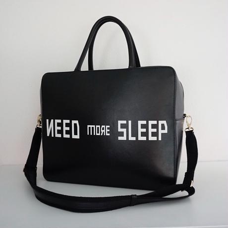 予約終了【再 先行予約】 RESONATES need more sleep black