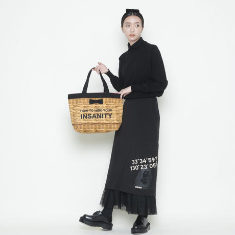 【新作】town mini tote fake basket logotip