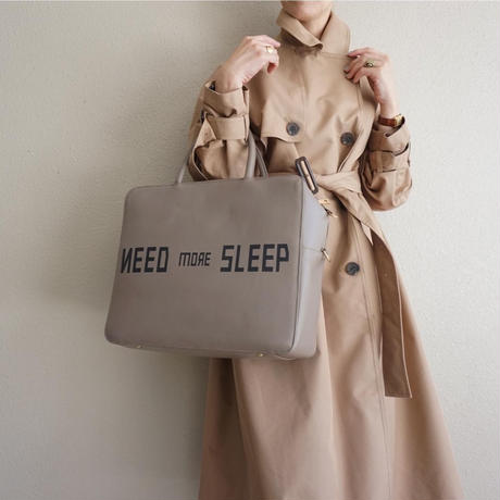 【受付終了】RESONATES need more sleep grey