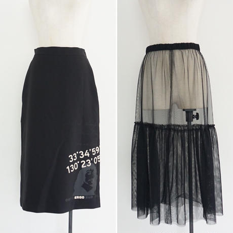 【受付終了】thomas magpie printed layered skirt(2204611)