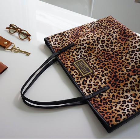 holiday tote L original leopard