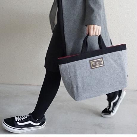 【online store 限定】town mini melton silver grey