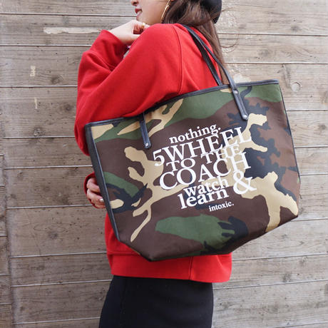 holiday tote L camouflage logotip
