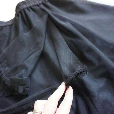 thomas magpie tulle frilled skirt(2214618)【受付終了:11月お届け】
