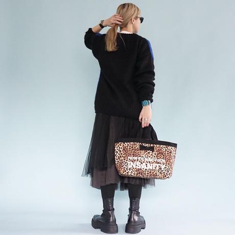 【新作】town mini intoxic. original textile leopard logotip