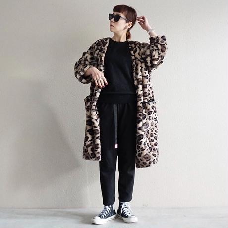 予約終了【先行予約】leopard fake fur coat (2193203)