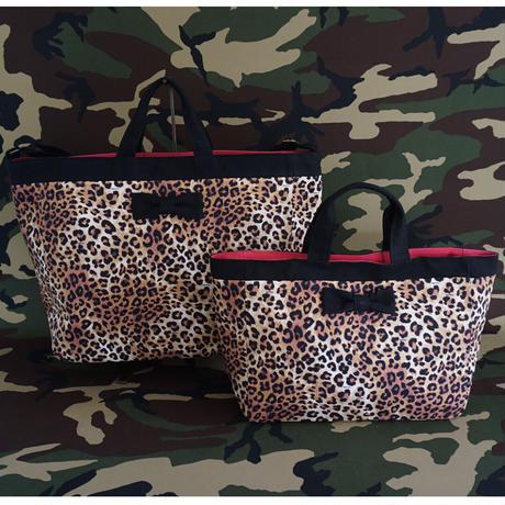 adjust strap tote intoxic. original textile leopard