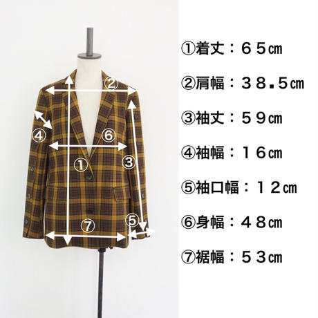 【受付終了】thomas magpie tailored jacket(2204210)