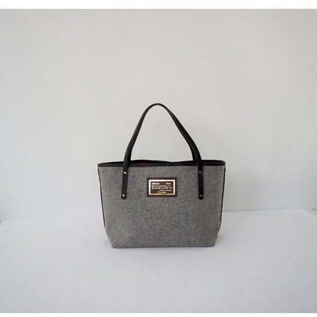 【2017 aw collection】holiday tote small silver grey