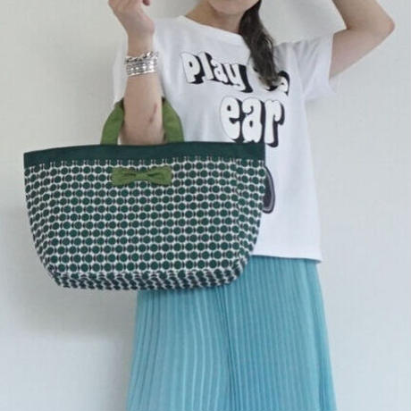 【新作】town mini candy dots green