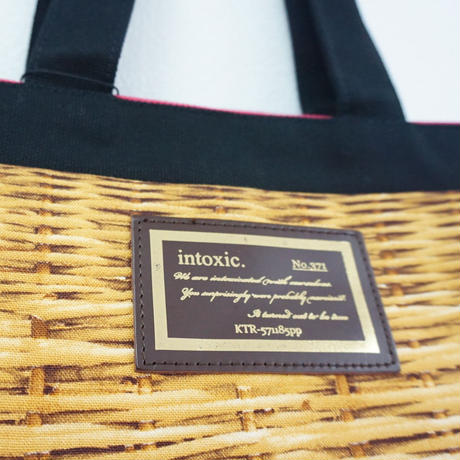 basic tote fake basket logotip