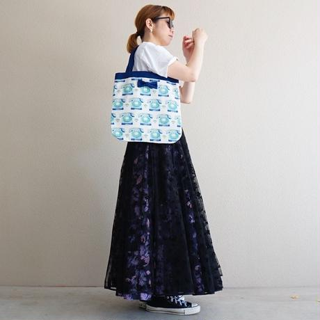 【オンライン限定】medium tote telephone blue