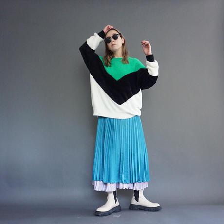 thomas magpie colour blocking knit(2214730)【受付終了:11月お届け】