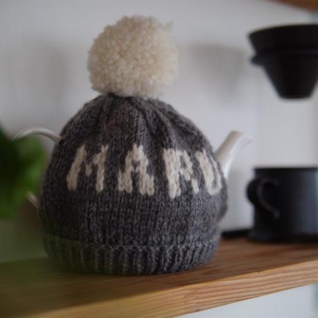 手編みティーコージー(ティーポットカバー)