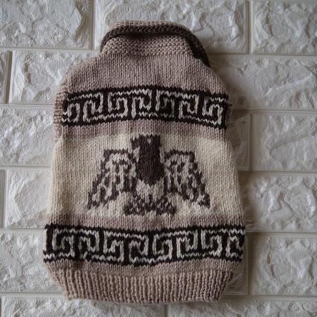 手編みオーダーカウチンベスト【M】【 L】サイズ