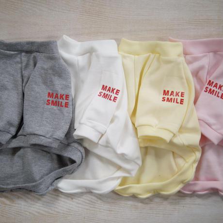 MAKE SMILE Tシャツ(ピンク)