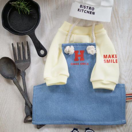 MAKE SMILE Tシャツ(黄色)