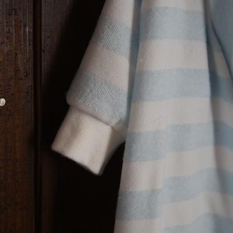 わんこ羽毛布団パジャマセット(水色)