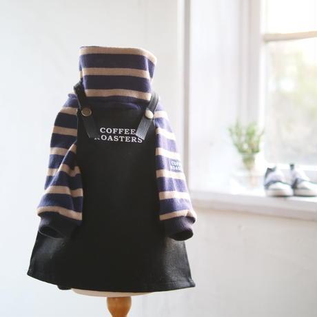 わんこカフェエプロン(黒)