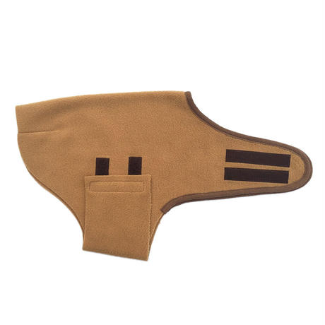 冬の家衣 (黄土色)/  Fleece  Body Warmer (Camel)