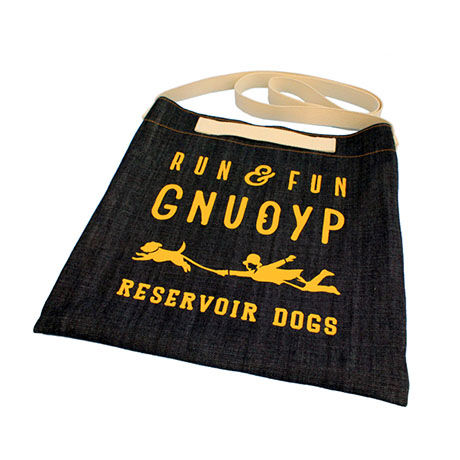 GNUOYP ショルダーバッグ(L) + ロゴ入り巾着袋付