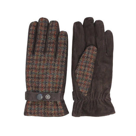 ハリスツイードの紳士用手袋