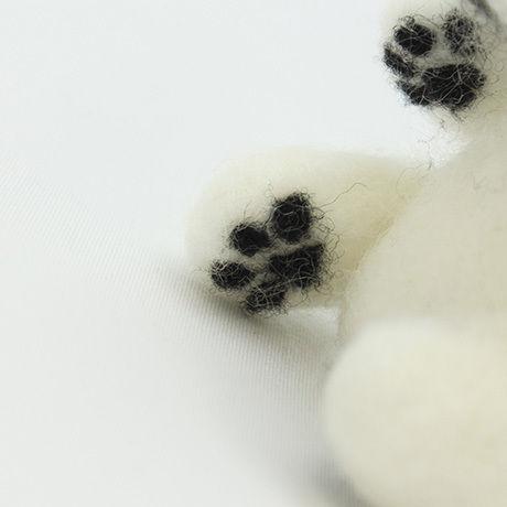 ウール―シュシュ 羊毛フェルトで作る「MY CHIBI ワン」(オーダーメイド)