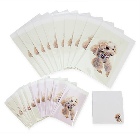 愛犬ステーショナリーB(メッセージカード4000円セット)(※追加オーダーのみ)