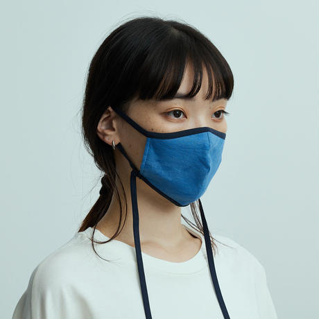 STRAP MASK ストラップマスク 天然染料染め