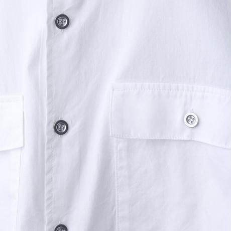 BAND COLLAR SHIRT バンドカラーシャツ ホワイト