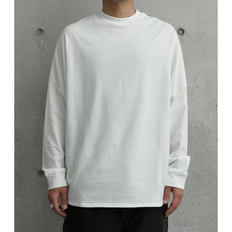 LONG DOLMAN  SLEEVE T-SHIRT 江夏潤一『I'm here (sun)』
