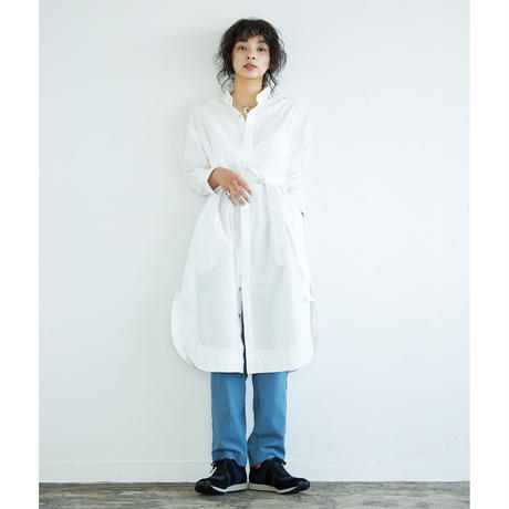 HOSPITAL LONG SHIRT ホスピタルロングシャツ natural dye
